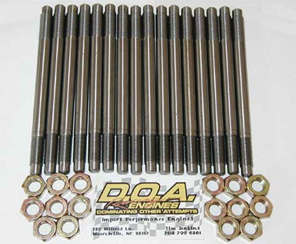 3.0 Head Stud Kit by D.O.A. Racing Engines